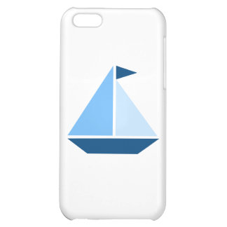 Blue Sail Boat iPhone 5C Cover