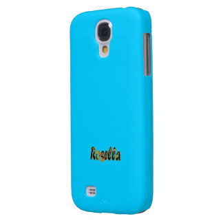 Blue Samsung Galaxy s4 cover for Rosella