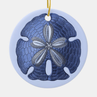 Blue Sand Dollar Ornament