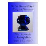 Blue Sapphire 65th Wedding Anniversary