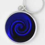 Blue Sapphire Keychain