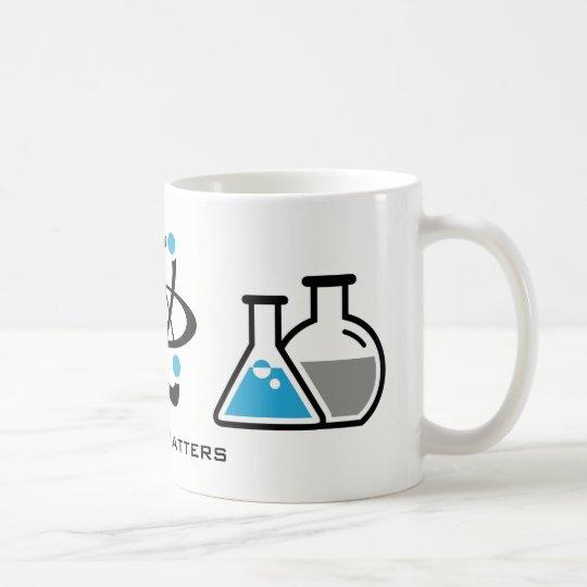 Blue Science Matters Design Mug