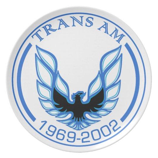 Blue Screaming Eagle Plate 1969 -2002