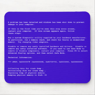 Blue Screen of Death Mouse Mat