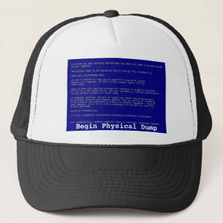 Blue Screen of Death Trucker Hat