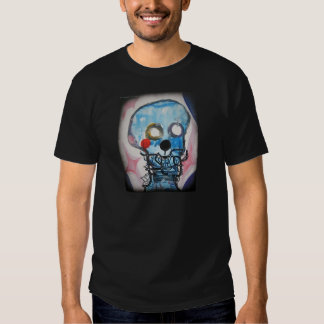 Blue Scull Men's T-Shirt