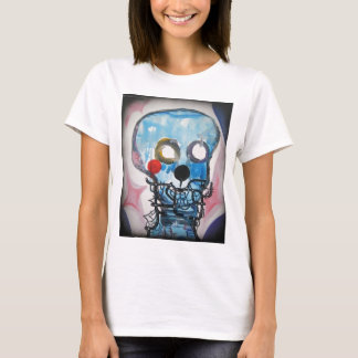 Blue Scull T-Shirt