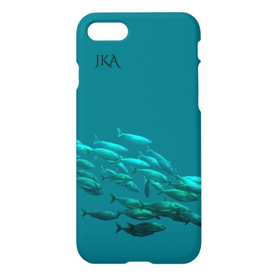 Blue Sea Fisherman's Dream Personalised iPhone 8/7 Case
