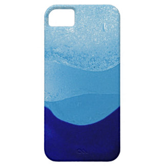 Blue Sea Glass Reflections Barely There iPhone 5 Case