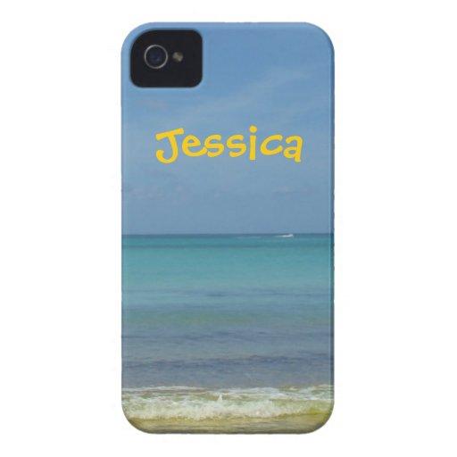 Blue Sea iPhone 4 - Name Case iPhone 4 Cover