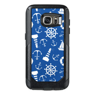 Blue Sea Pattern OtterBox Samsung Galaxy S7 Case