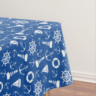 Blue Sea Pattern Tablecloth