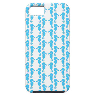 Blue Seahorse Pattern iPhone 5 Cover