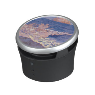 Blue seascape, Wave Effect, c.1893 Bluetooth Speaker