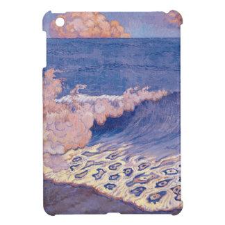 Blue seascape, Wave Effect, c.1893 iPad Mini Cover