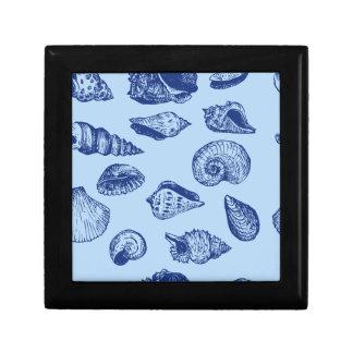 Blue Seashells Gift Box