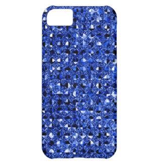 Blue Sequin Effect Phone Cases iPhone 5C Case