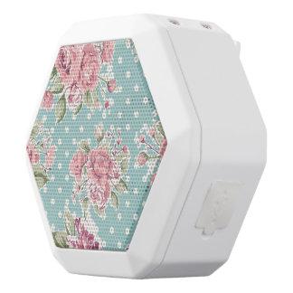 Blue ,shabby chic,polka dot white,floral pink,fun white boombot rex bluetooth speaker