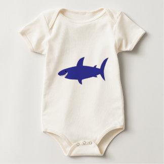 Blue Shark Baby Bodysuit