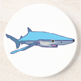 Blue-Shark coaster