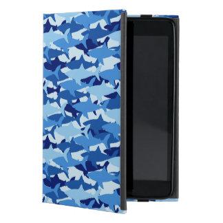 Blue Shark Pattern Cover For iPad Mini
