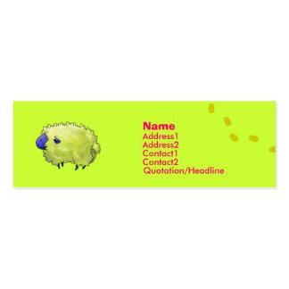 Blue Sheep Profile Card Business Card Template