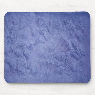 Blue Shells Mouse Mat