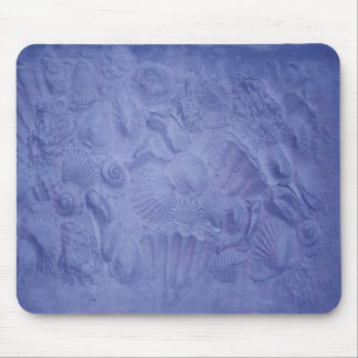 Blue Shells Mouse Pads