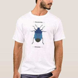 Blue Shield Bug T-Shirt