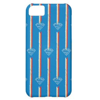 Blue Shield Pattern iPhone 5C Case