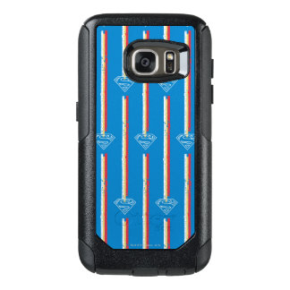 Blue Shield Pattern OtterBox Samsung Galaxy S7 Case