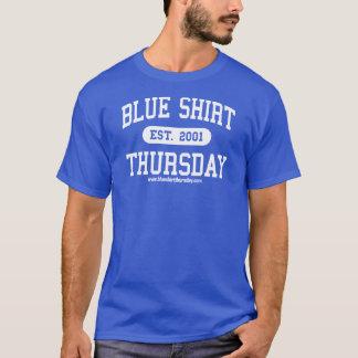 Blue Shirt Thursday Athletic T-shirt