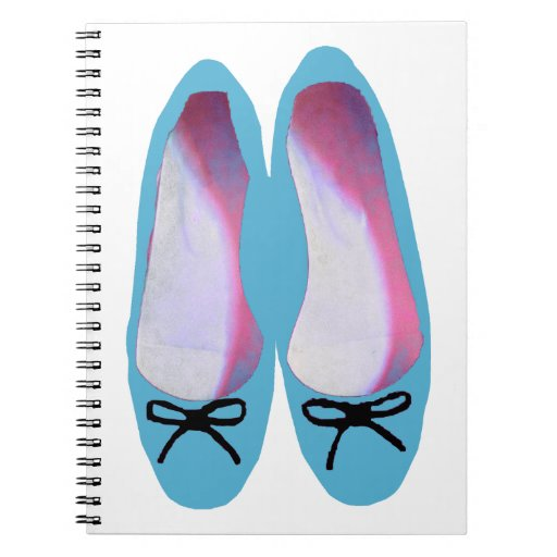Blue Shoes Spiral Notebook