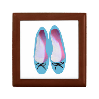 Blue Shoes Small Square Gift Box