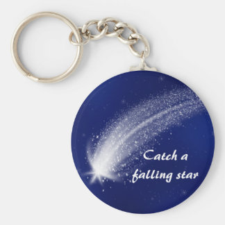 Blue Shooting Star Keychain #1