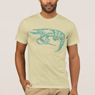 Blue Shrimp T-Shirt