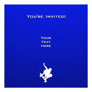 Blue Skateboarding Custom Announcement