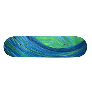 blue skater skateboards