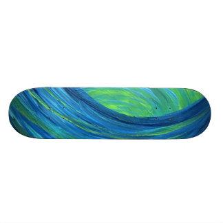 blue skater skateboards