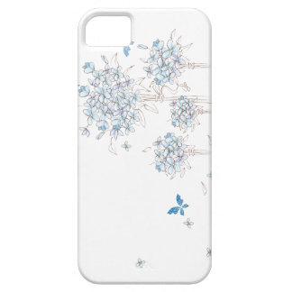 Blue Sketch iPhone 5 Covers