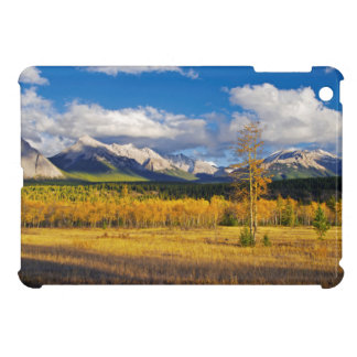 Blue skies and clouds above a meadow iPad mini covers