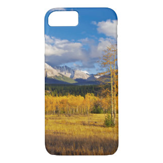 Blue skies and clouds above a meadow iPhone 8/7 case