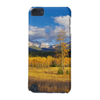 Blue skies and clouds above a meadow iPod touch 5G cases