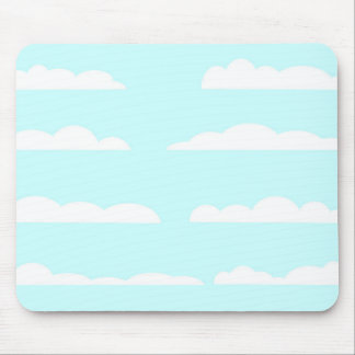 Blue Skies Background Mouse Pad