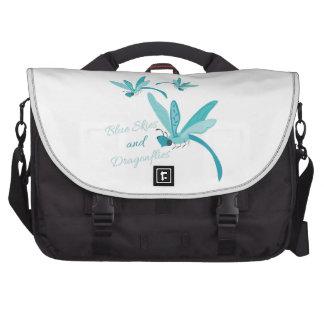 Blue Skies & Dragonflies Bag For Laptop