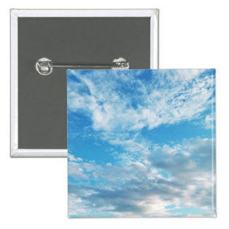 Blue Skies in Boothbay 2 Inch Square Button