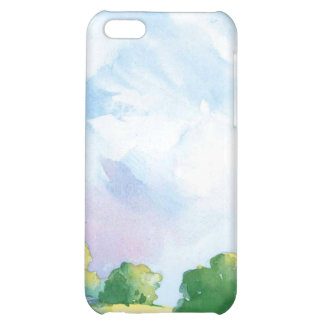 blue skies iPhone 5C cover