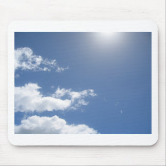 Blue Skies mouse mat