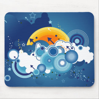 Blue Skies Mouse Pad