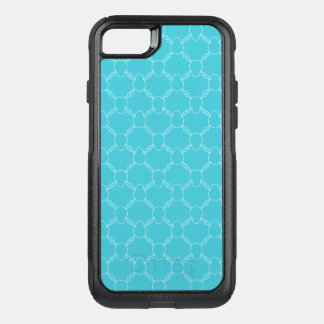 Blue Skull and Bones pattern OtterBox Commuter iPhone 8/7 Case